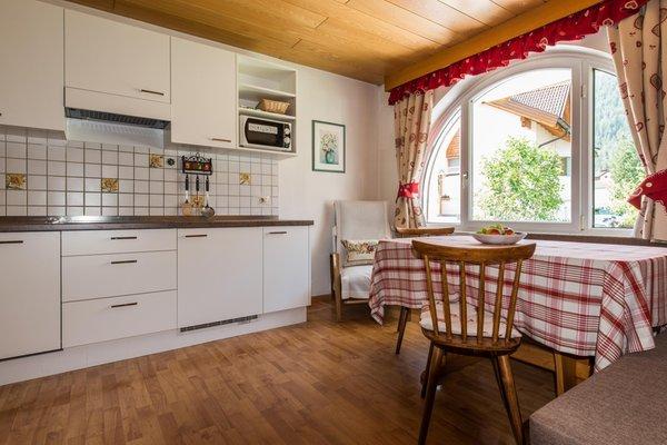 Foto der Küche Ciasa Albert