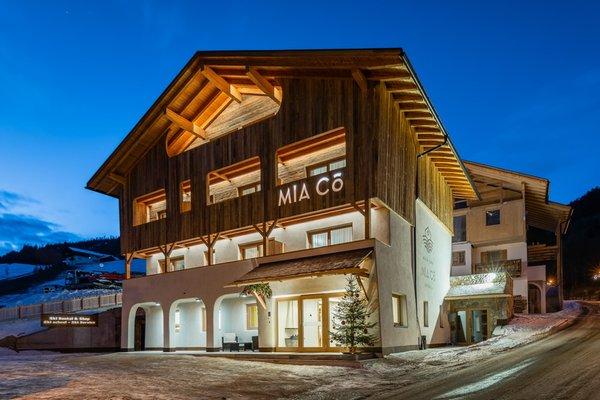 Winter Präsentationsbild Garni + Ferienwohnungen Mia Co