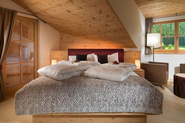 Foto della camera Appartamenti in agriturismo Bruggerhof