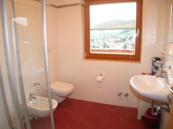 Photo of the bathroom Apartments Ciasa Isidor