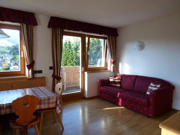 The living area Ciasa Isidor - Apartments 3 suns