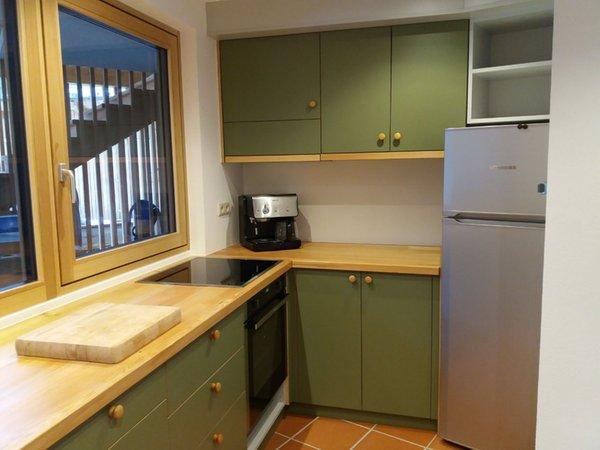 Foto della cucina Chalet Marlene - Biohouse
