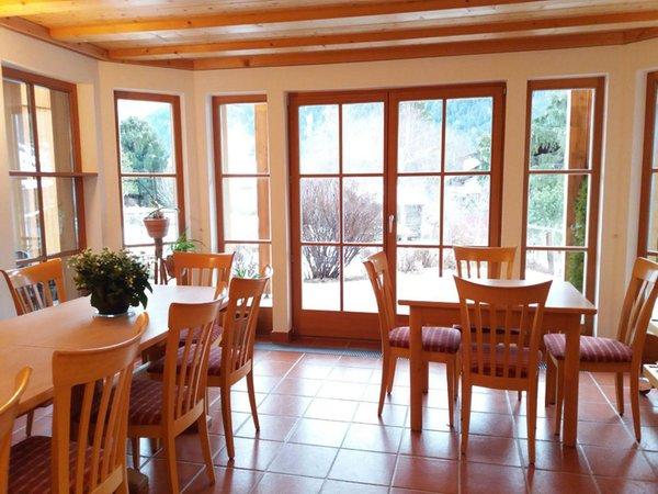 Il ristorante San Vigilio Chalet Marlene - Biohouse