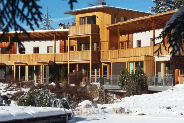 Foto invernale di presentazione Chalet Marlene - Biohouse - Residence 5 soli