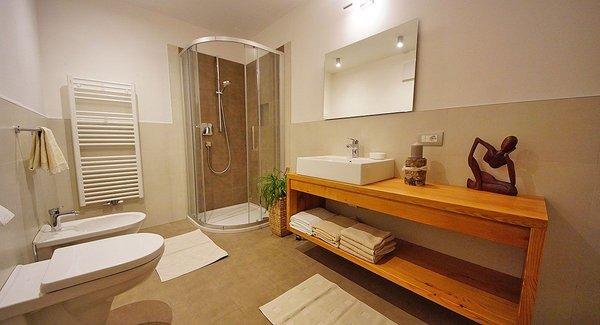 Foto del bagno Appartamenti Ciasa Rungg