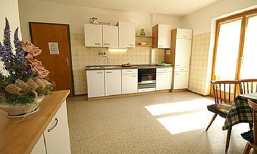 Foto della cucina Ciasa La Palsa