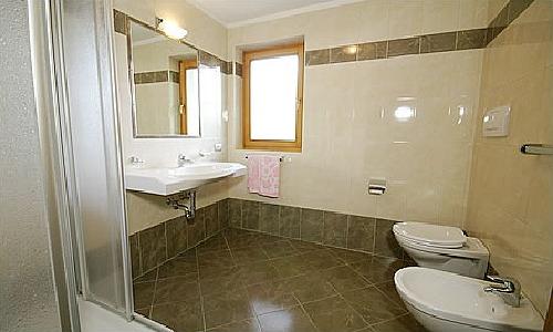 Foto del bagno Appartamenti Ciasa La Palsa