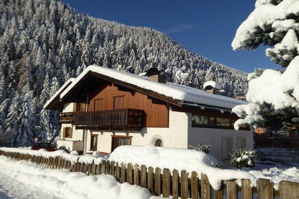 Foto invernale di presentazione Appartamento Ciasa Stoffl