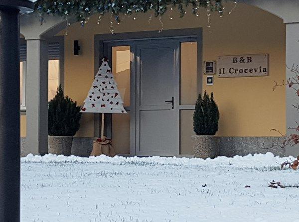 Foto Außenansicht im Winter Il Crocevia