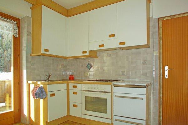 Foto der Küche Ciasa Confolia