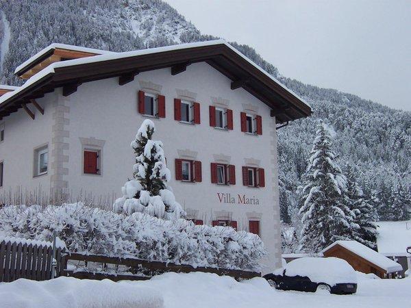 Winter Präsentationsbild Ciasa Villa Maria - Ferienwohnungen 3 Sonnen