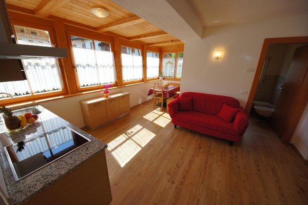 The living area Apartments Ciasa Villa Maria