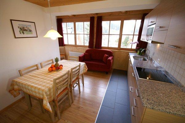 Foto della cucina Ciasa Villa Maria