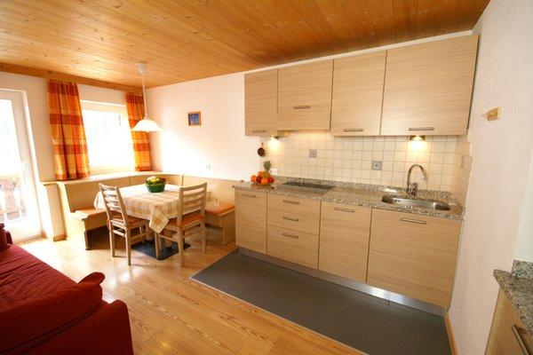 Foto der Küche Ciasa Villa Maria