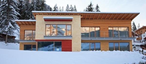 Winter Präsentationsbild Ferienwohnungen Ciasa Antorè