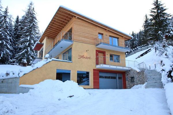 Foto Außenansicht im Winter Ciasa Antorè