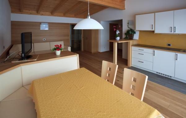Der Wohnraum Ferienwohnungen Ciasa Antorè