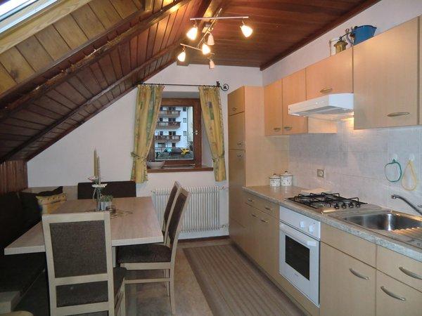 Foto der Küche Ciasa Burcia