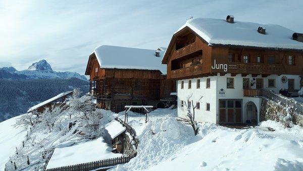 Foto Außenansicht im Winter Maso Jung Hof