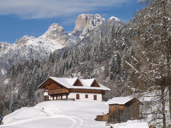 Foto Außenansicht im Winter Casa Tarin 32