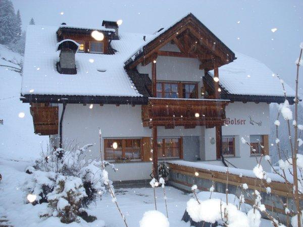 Winter Präsentationsbild Lü de Bolser - Ferienwohnungen auf dem Bauernhof 3 Blumen