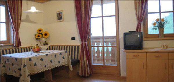 La zona giorno Soratru - Appartamenti in agriturismo 3 fiori