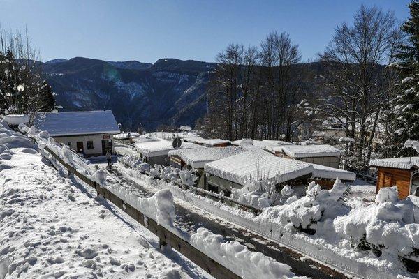 Foto invernale di presentazione Campeggio Belvedere Lavarone