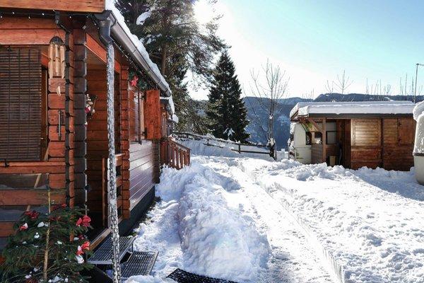Foto esterno in inverno Belvedere Lavarone