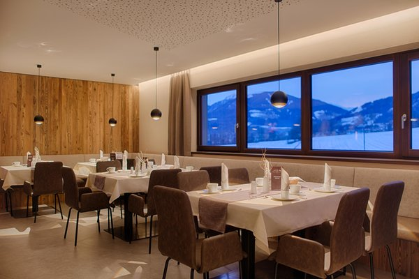 The restaurant Riscone / Reischach K1 Mountain Chalet