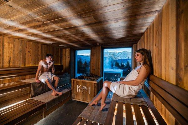 Foto della sauna Riscone