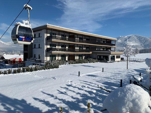 Foto esterno in inverno K1 Mountain Chalet
