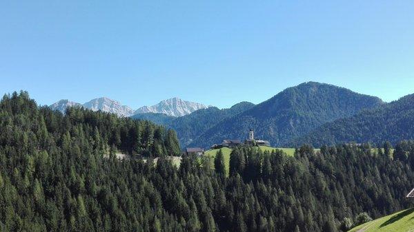 Panorama Pieve (San Vigilio di Marebbe)