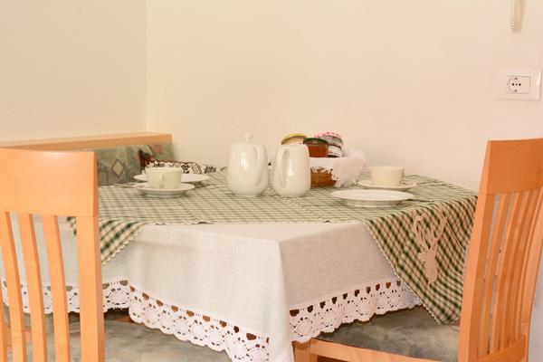 La colazione Appartamenti in agriturismo Kramerhof