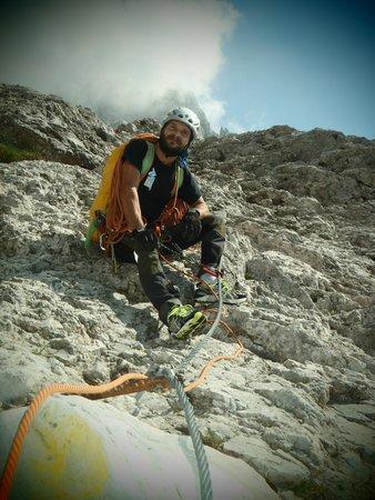 Foto estiva di presentazione Universo Verticale - Guida alpina