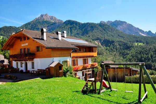 Foto esterno in estate Ciasa Cone da Val