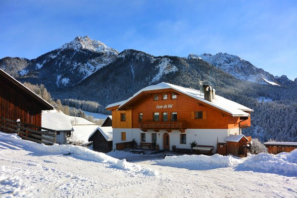 Foto Außenansicht im Winter Ciasa Cone da Val