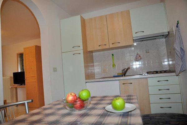 Foto della cucina Ciasa Cone da Val