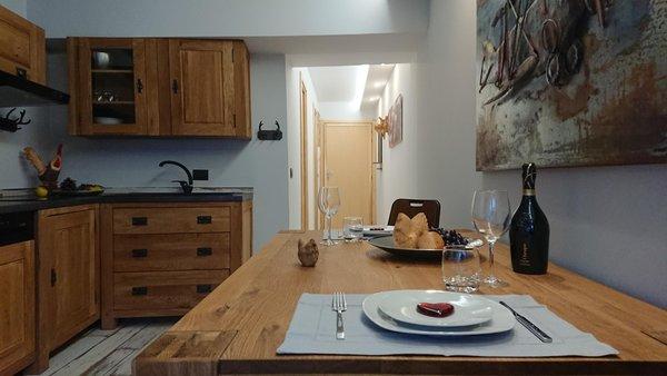 Foto della cucina Blue Moon
