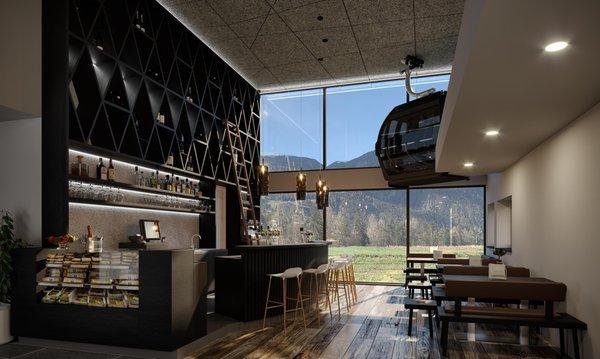 Foto von der Bar Hotel Wochtla Buam