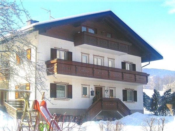 Foto invernale di presentazione Appartamenti in agriturismo Bachwiesenhof