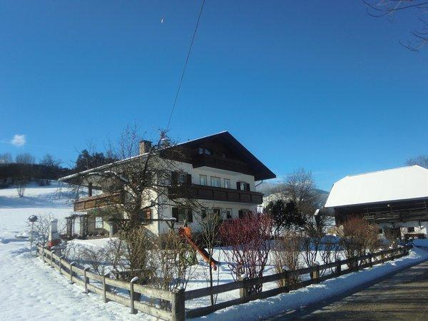 Foto esterno in inverno Bachwiesenhof