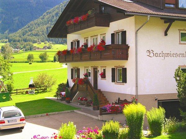 Foto estiva di presentazione Appartamenti in agriturismo Bachwiesenhof