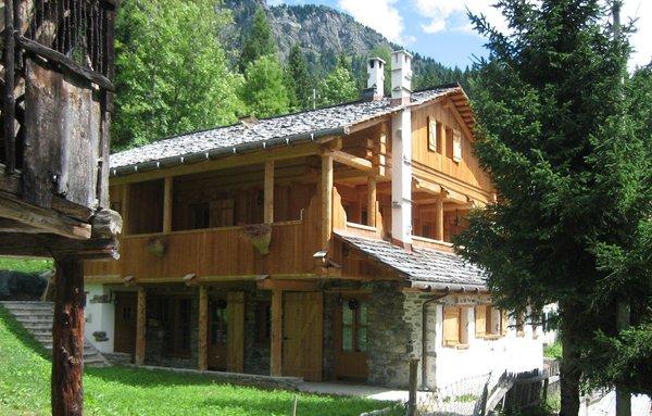 Sommer Präsentationsbild Ferienhaus Tabià Su'n Coi