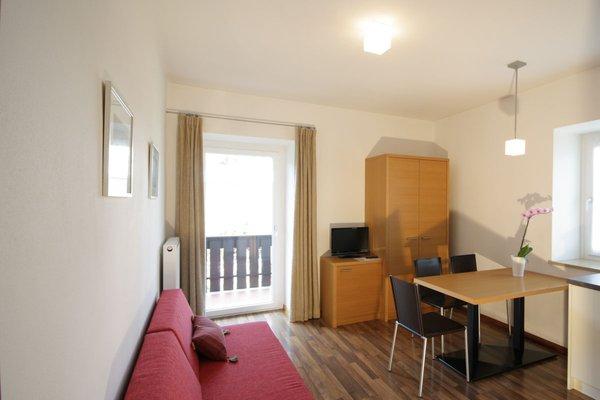 La zona giorno Haus Ragen - Residence 3 stelle