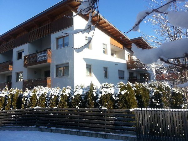 Winter Präsentationsbild Ferienwohnungen Alping
