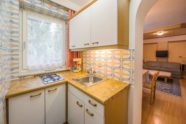 Foto della cucina Appartements Gartner