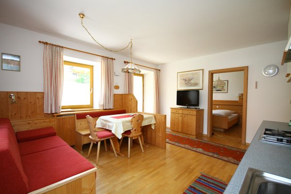 Der Wohnraum Apartments Oberparleiter Bachlechnerhof