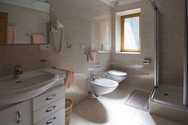 Foto del bagno Apartments Oberparleiter Bachlechnerhof