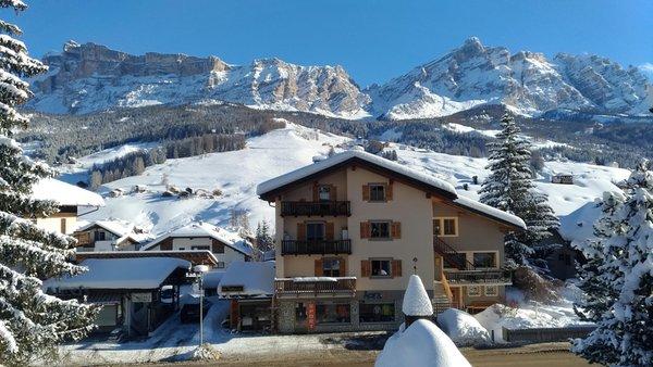 Foto invernale di presentazione Apartment La Villa