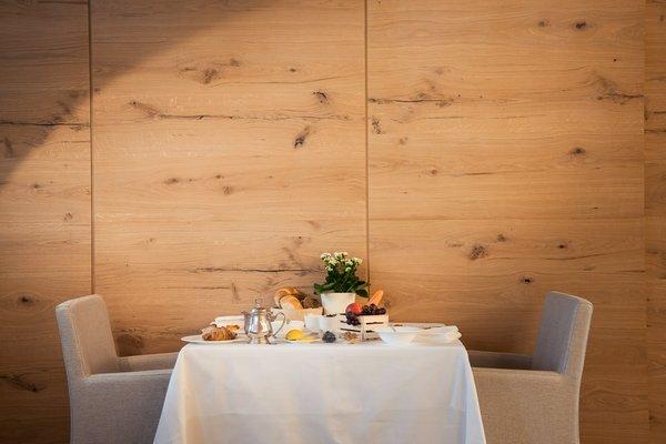 The restaurant Riscone / Reischach Petrus